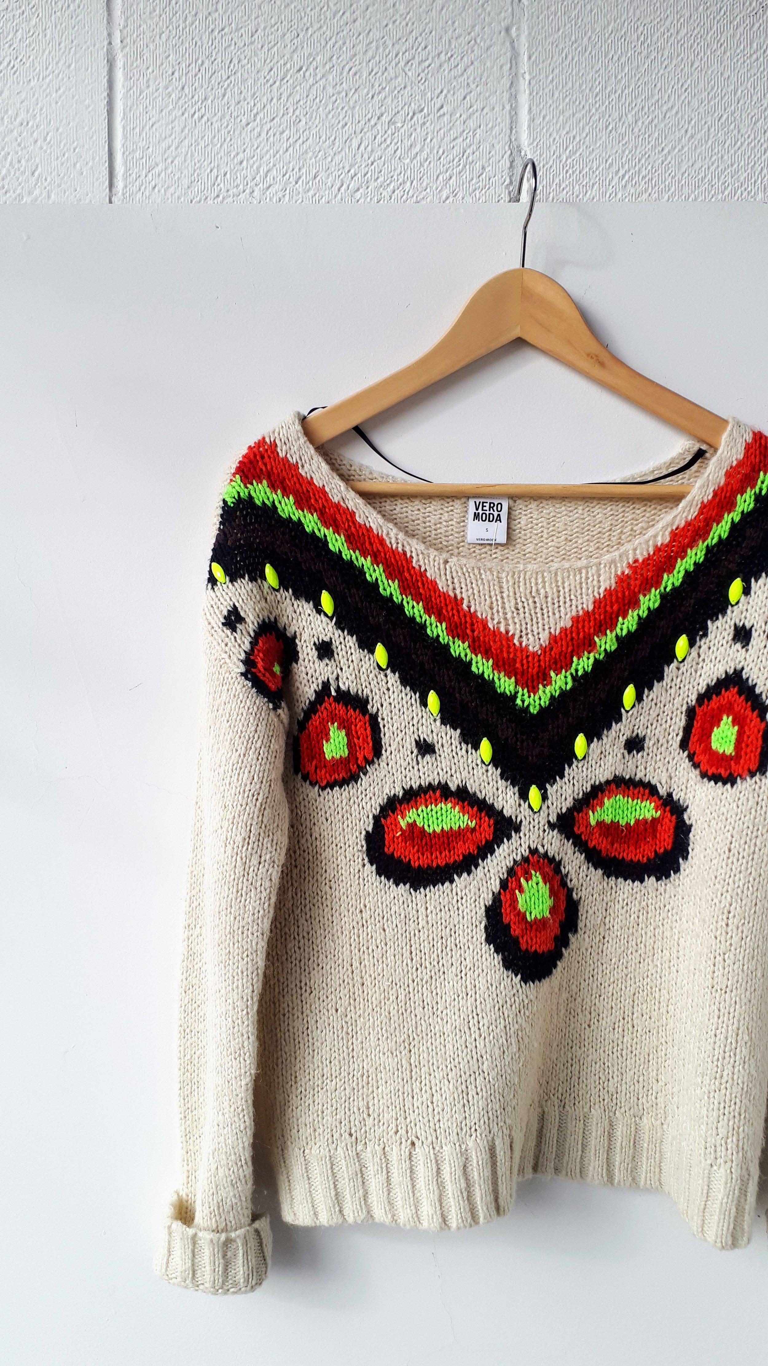 Vero Moda sweater; Size S, $24 (on sale: $12)