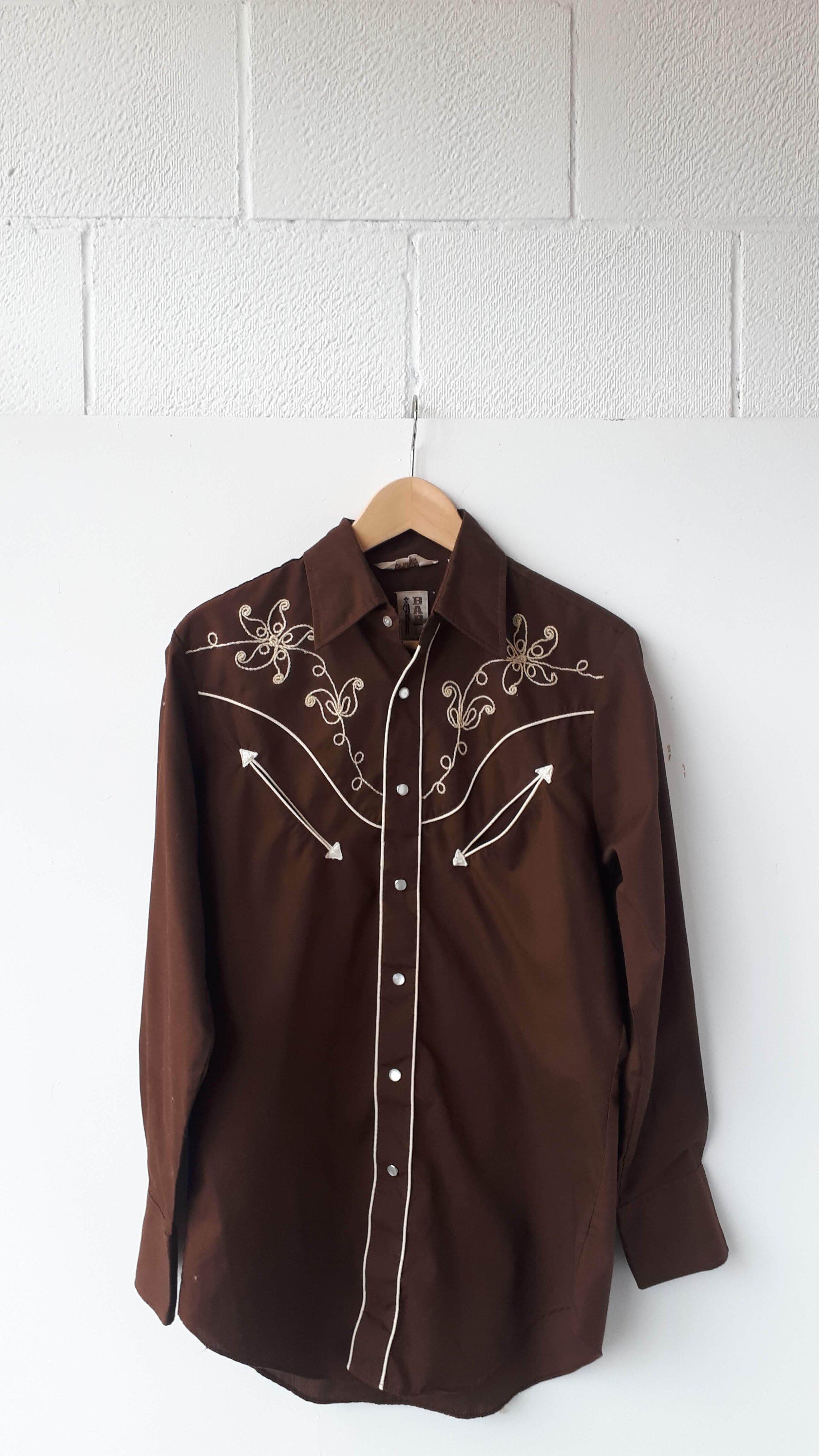 Barb shirt; Men's size M, $28