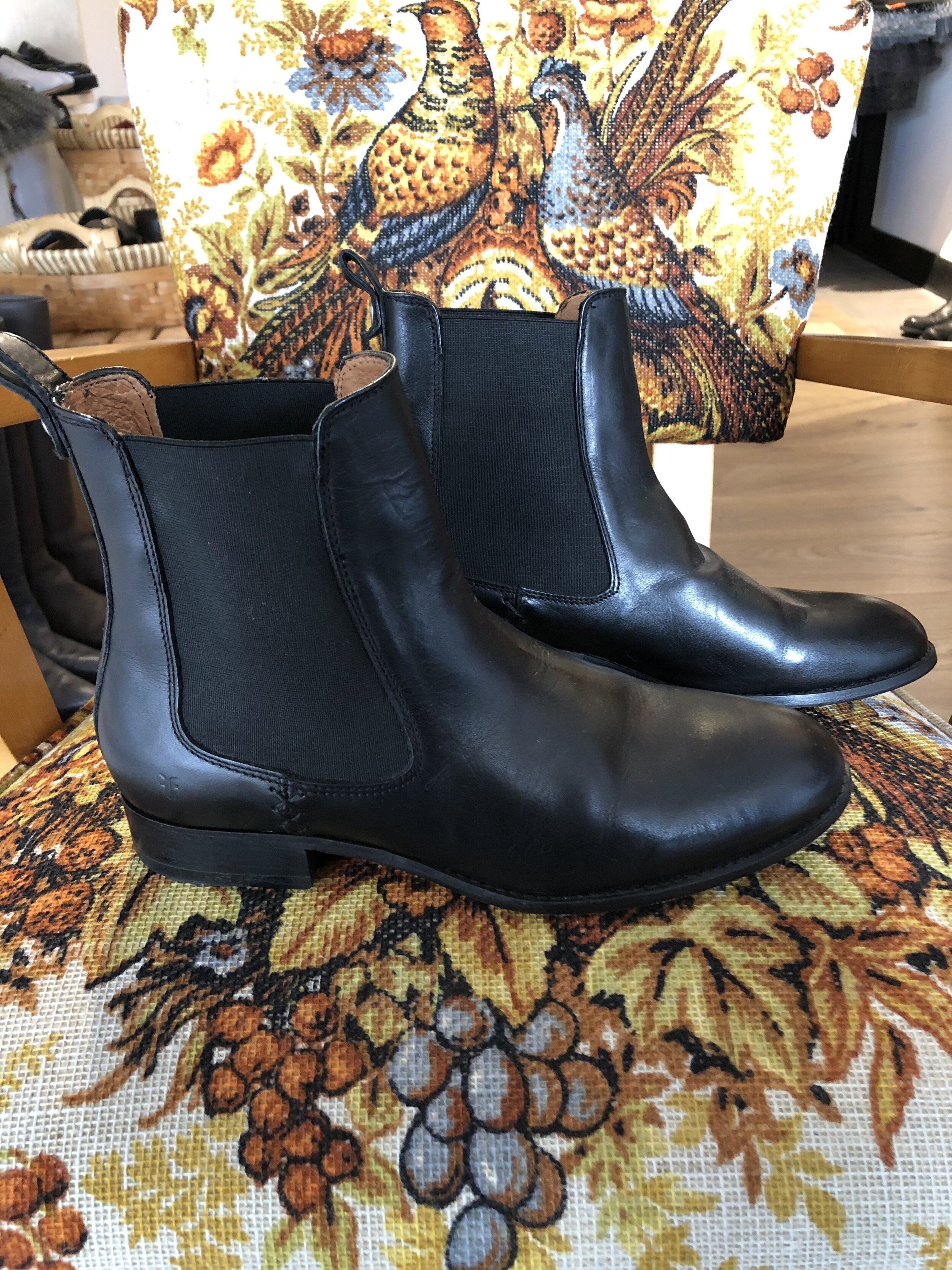 Frye boots; Size 9, $125