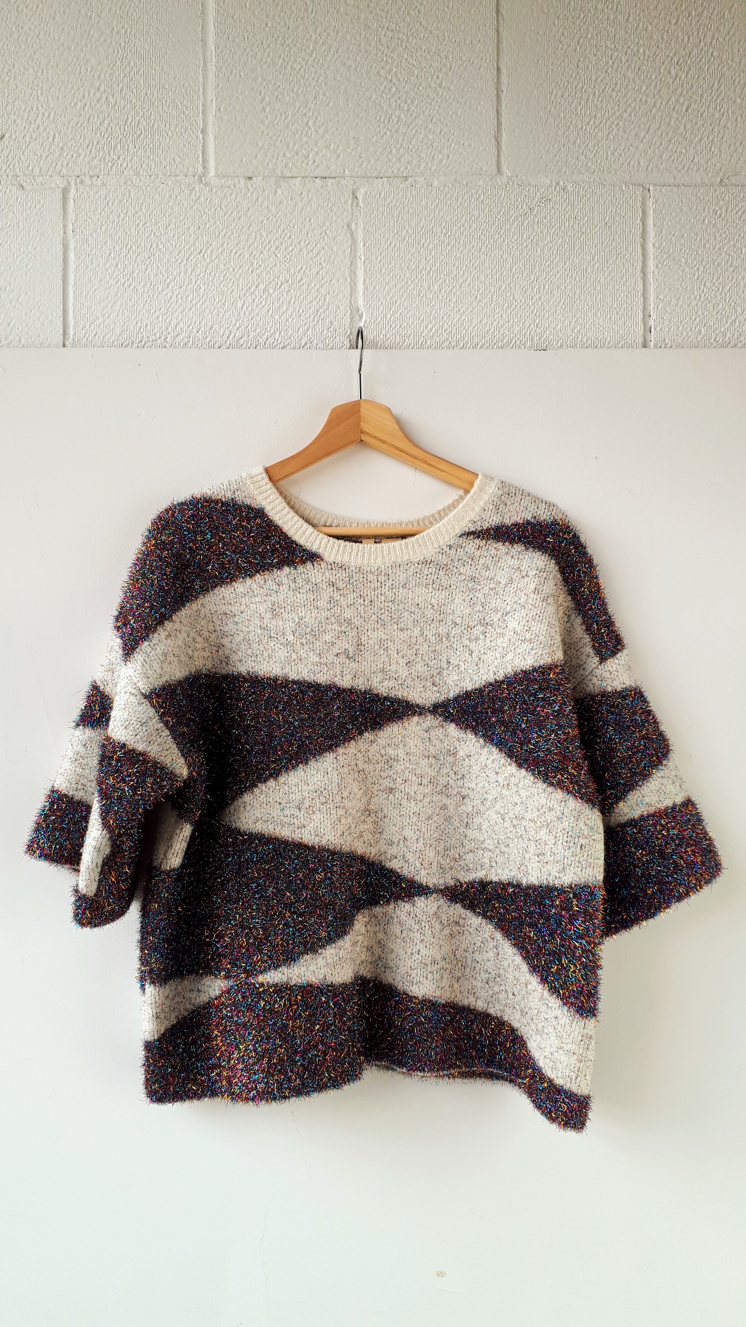 Moth top; Size S, $42