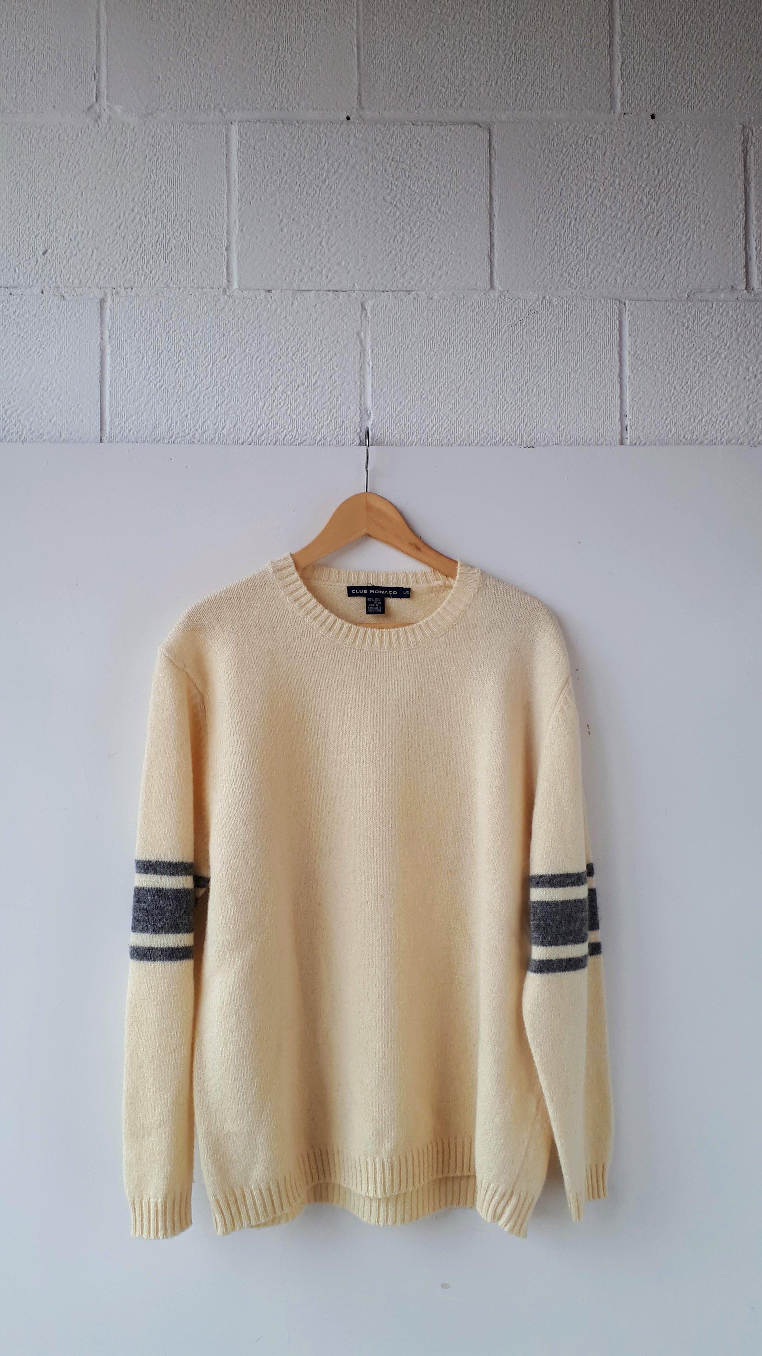 Club Monaco sweater; Men's size L, $40