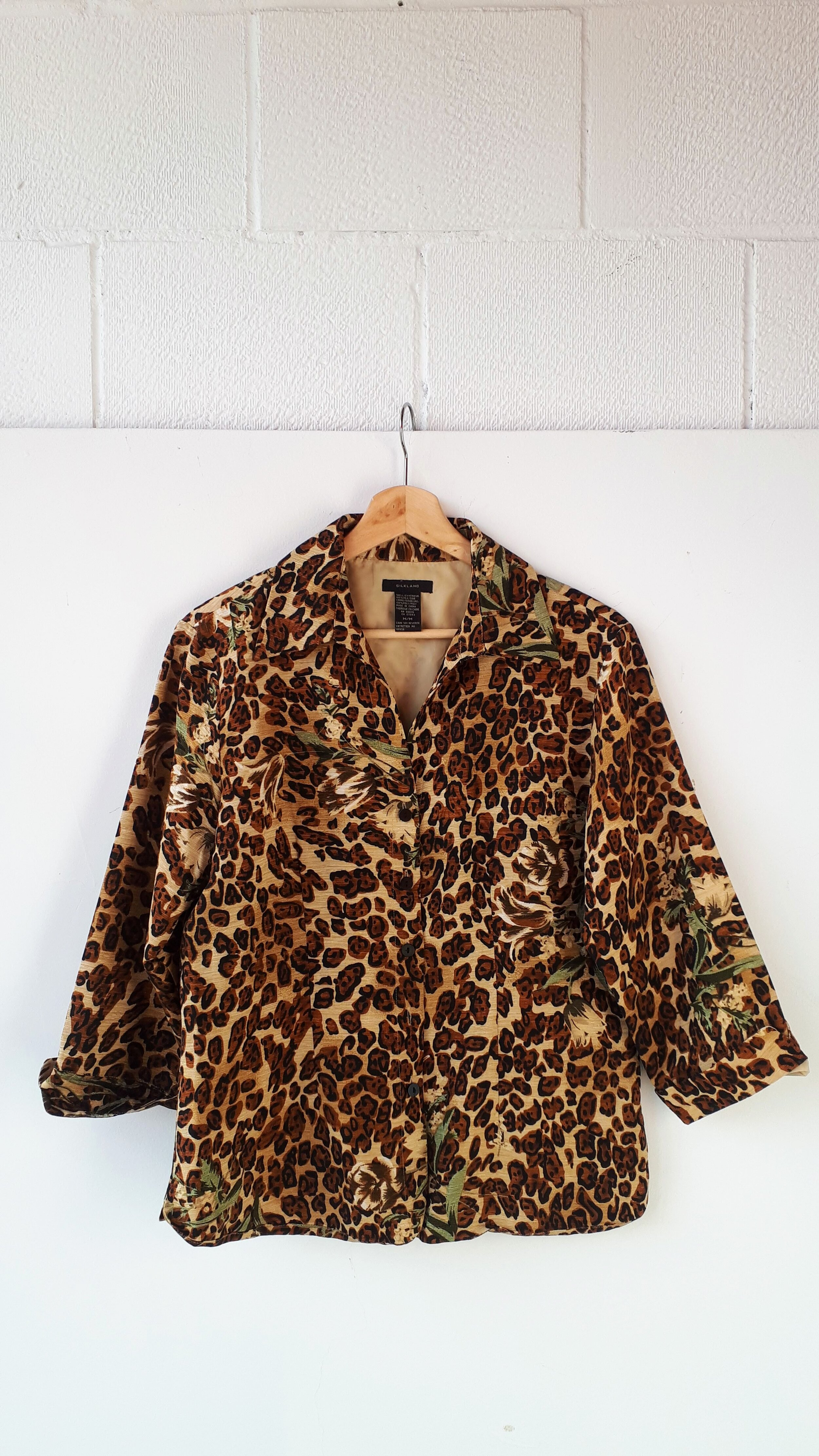 Silkland shirt; Size M $28 (on sale for $12!)