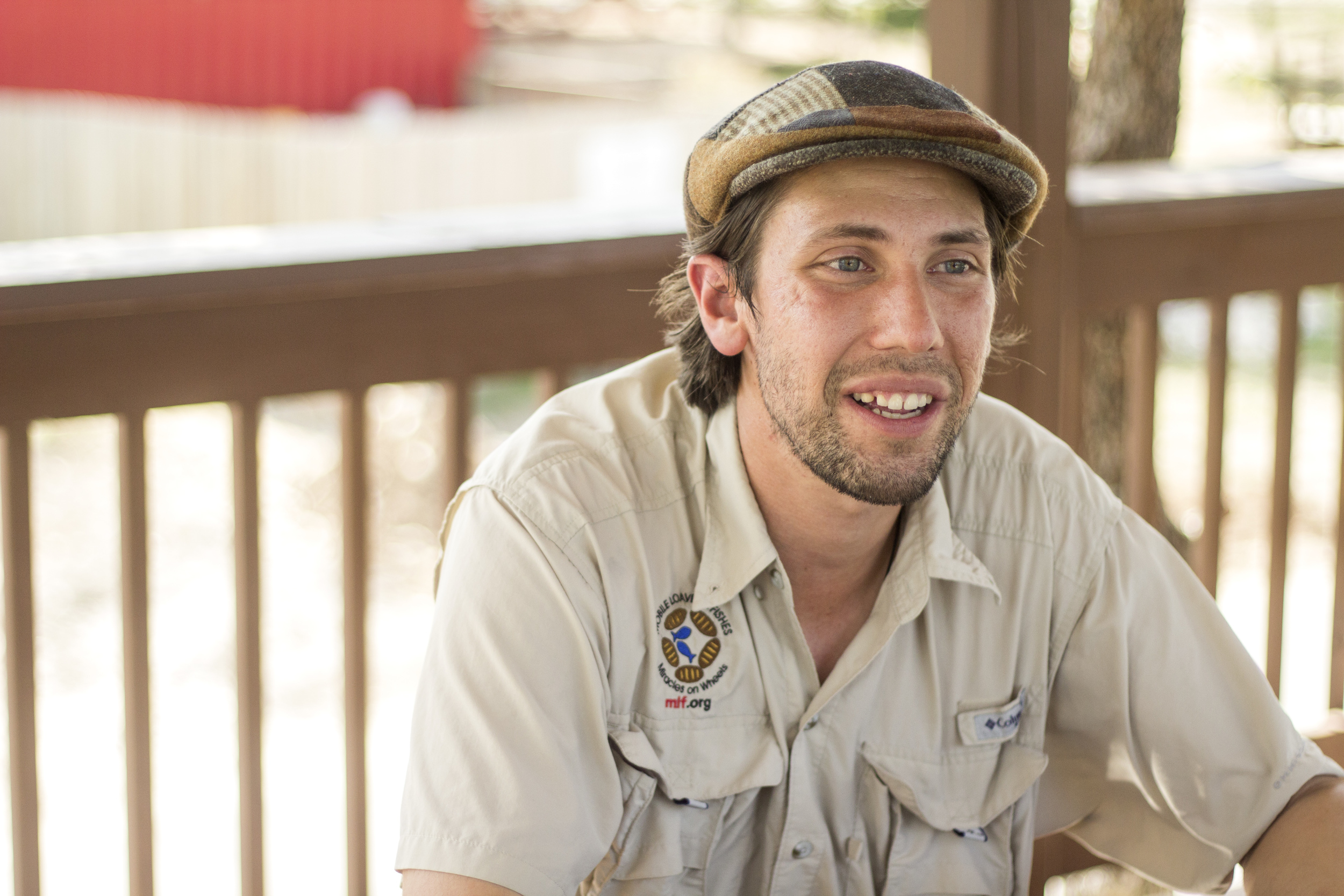 Matthew (Assistant Property Manager at Community First! Village) |Austin | July 7