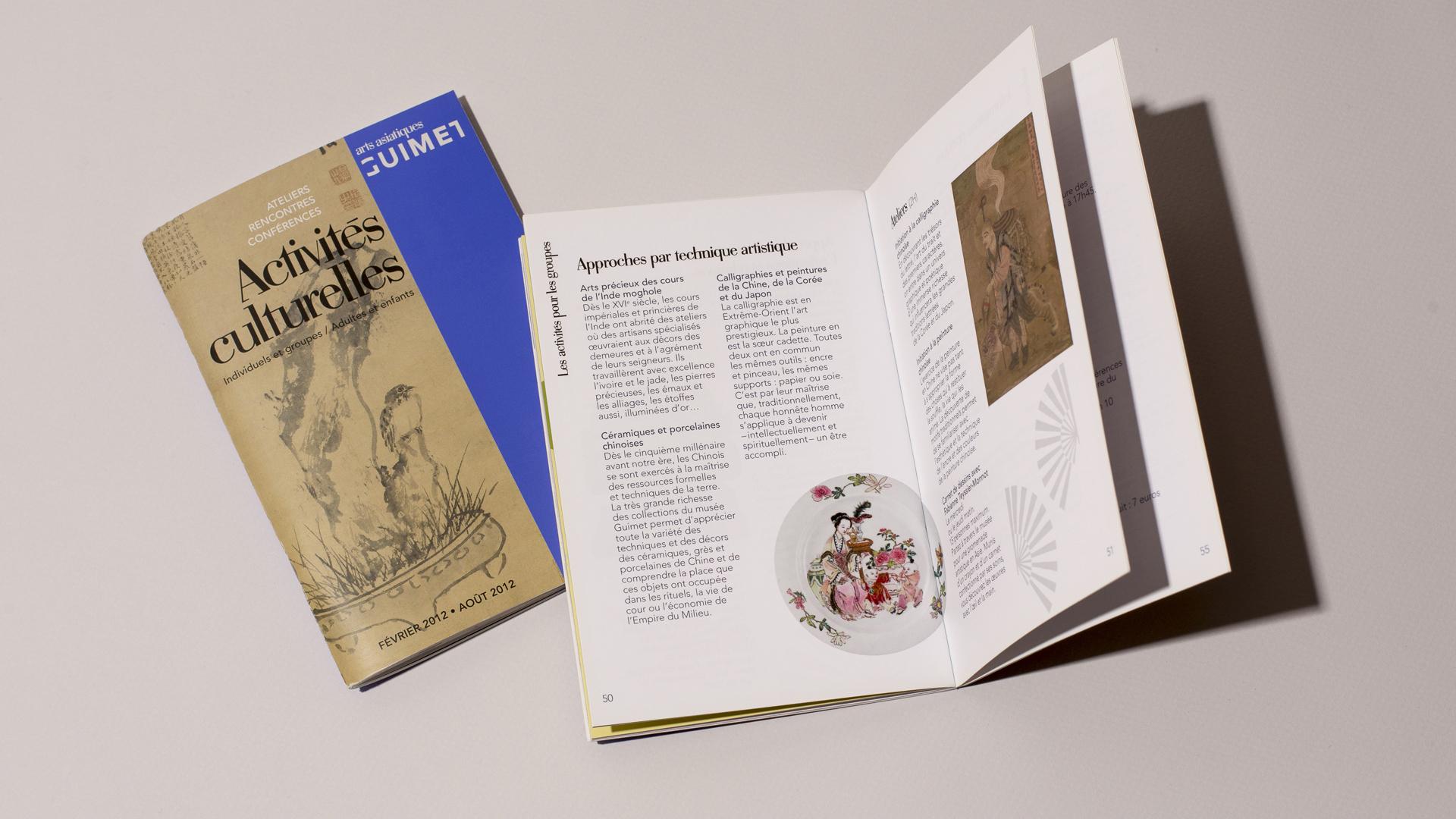 Brochure Musee guimet
