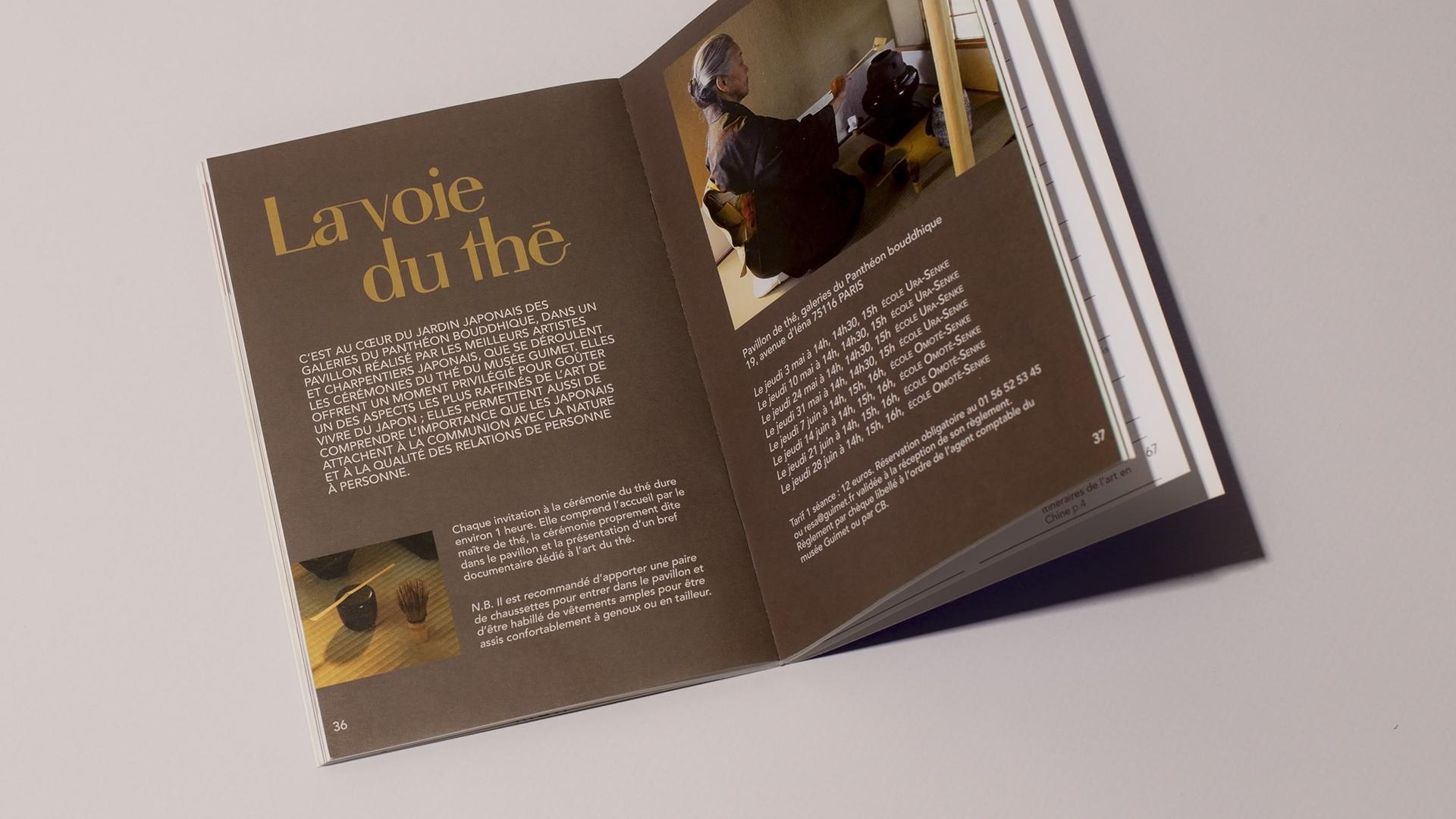 Brochure Guimet