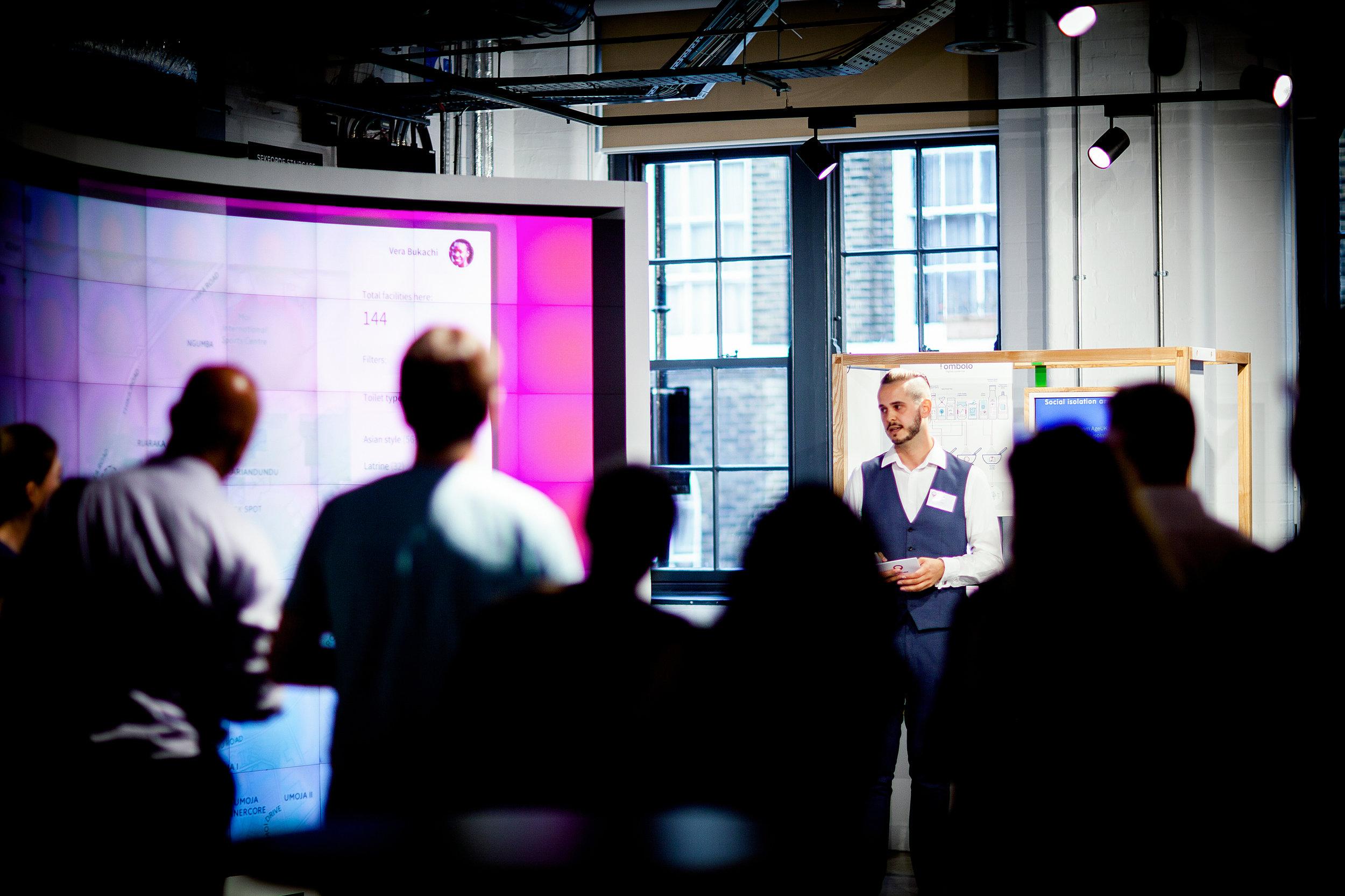Photo of platform demo launch