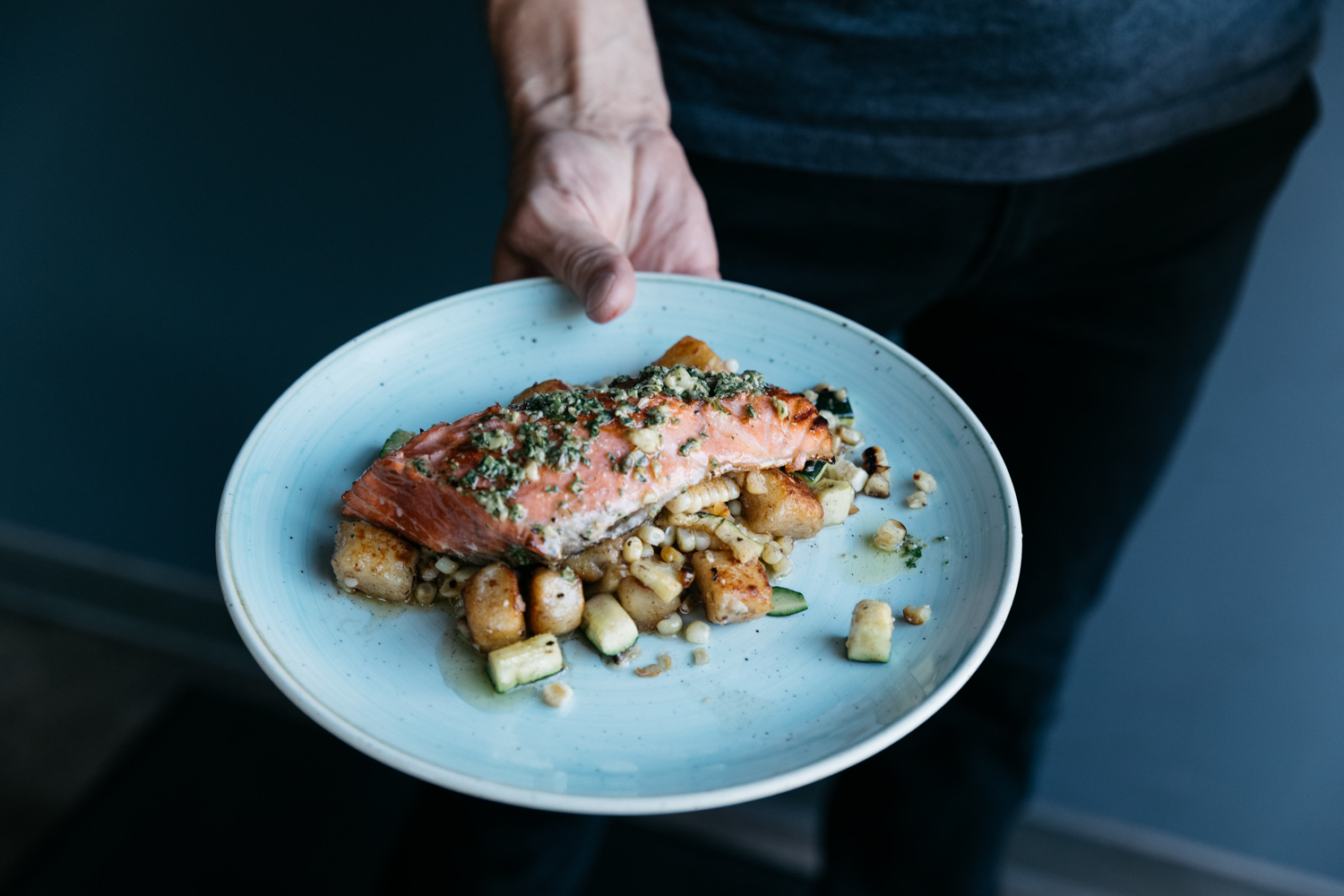 Jimena Peck Denver Lifestyle Food Photographer Fish Dish