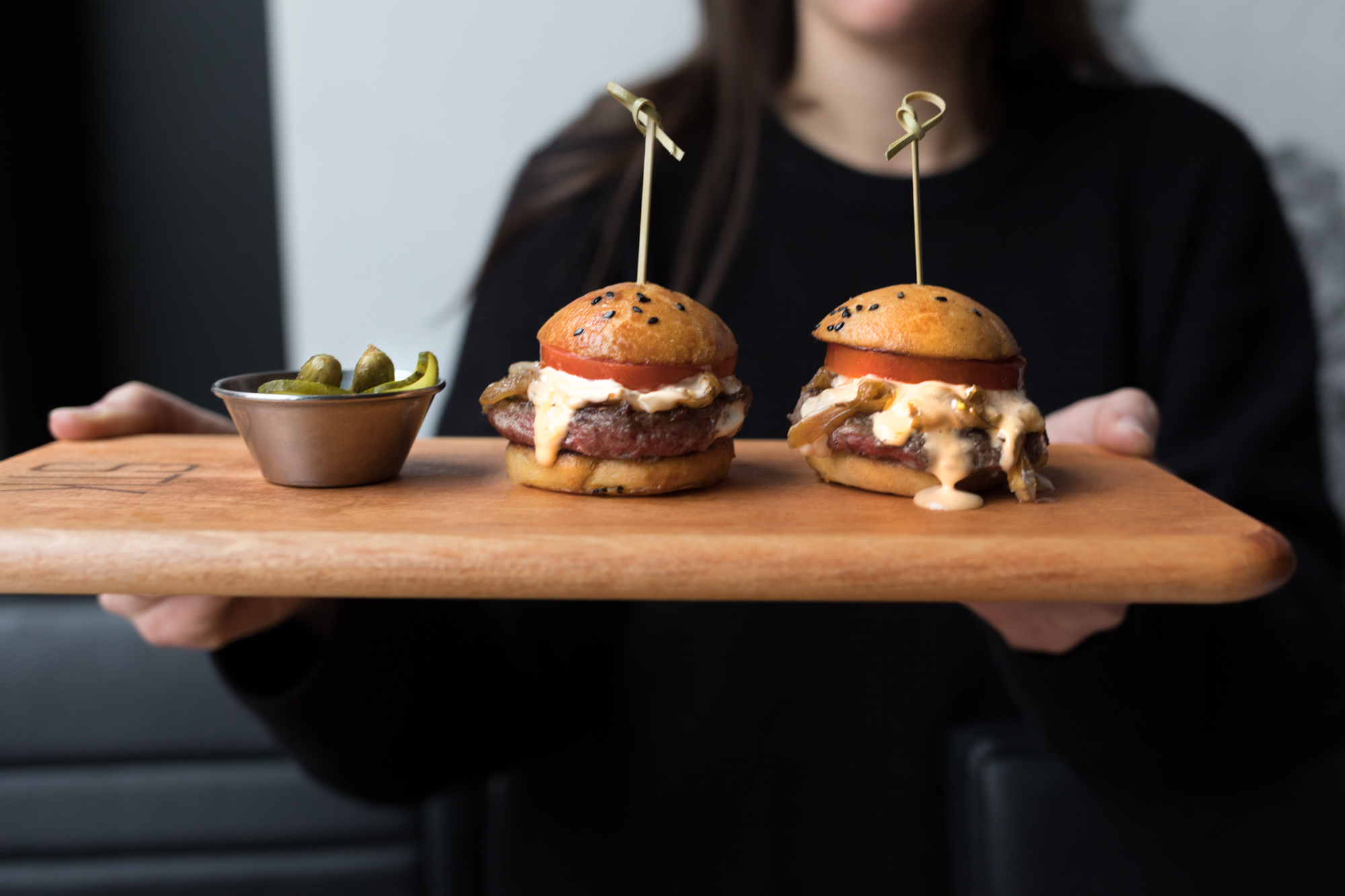 Jimena Peck Denver Lifestyle Food Photographer STK Denver Burgers