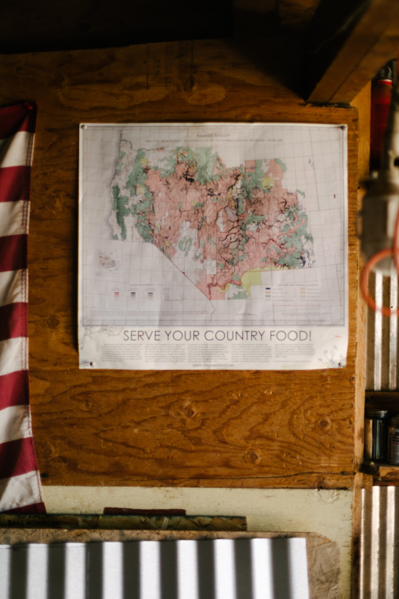 Jimena Peck Denver Lifestyle Editorial Photographer Native Hill Farm Wall Map