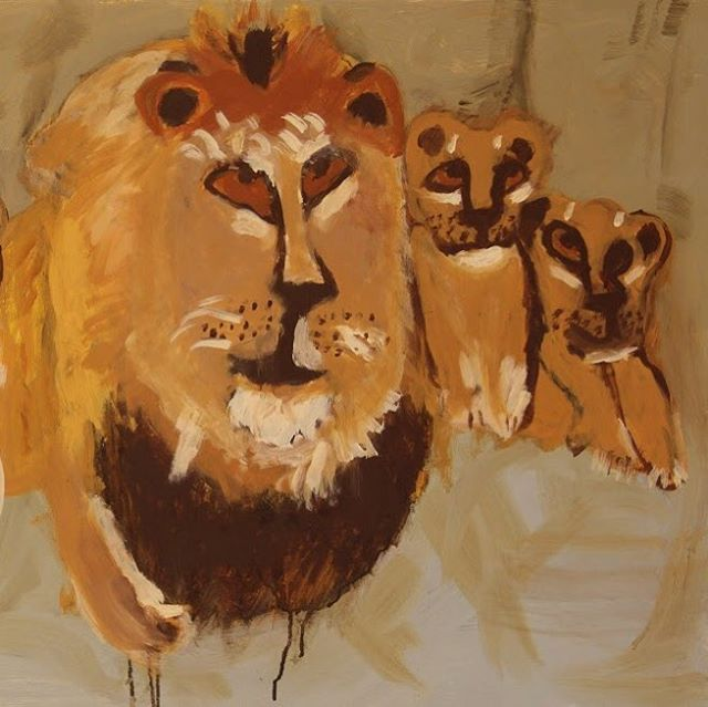 CBG presents Love & Fear, an exhibition of recent works by Redstart Artist's, David Quan and Uduehi Imienwarin.  Udi's loves lions. They have taken pride of place in all his artworks. He tirelessly draws lions in their natural habitats.  PV Friday 30 Nov 6-9pm Continues Saturday 1 & Sunday 2 Dec 11-4pm @redstartarts