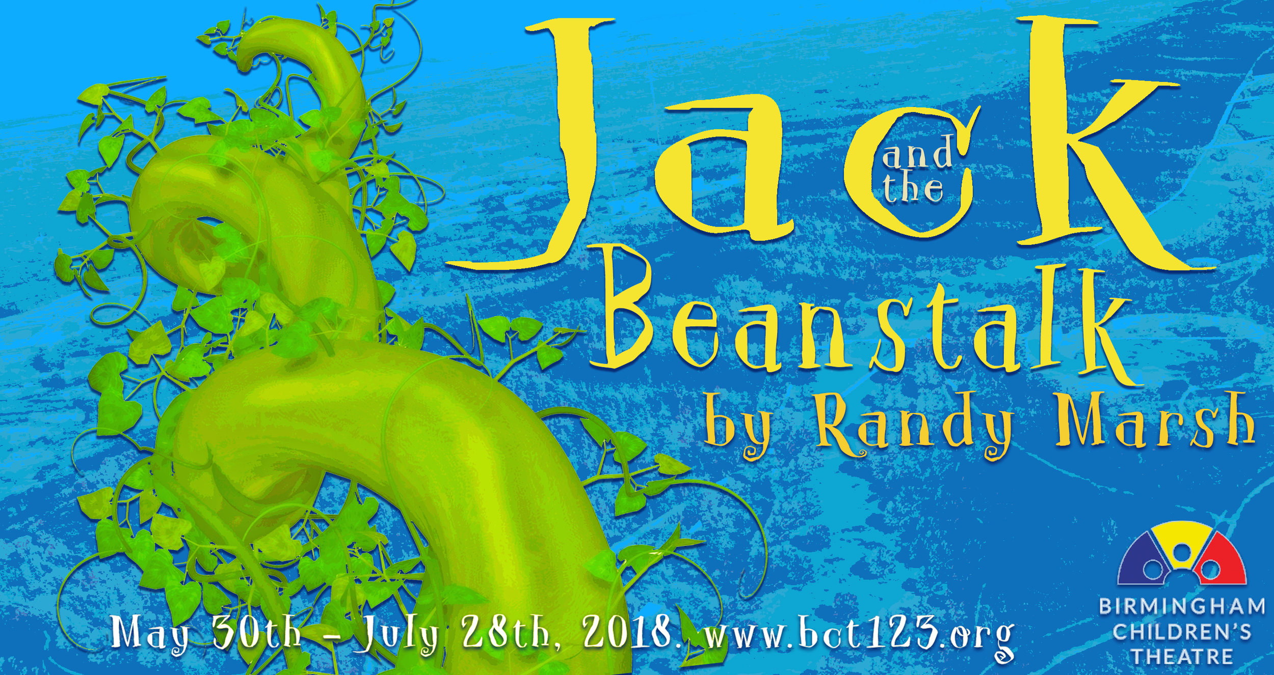 Jack and the Beanstalk  will play at the Birmingham-Jefferson Convention Complex July 10th - 28th. Tuesdays - Saturdays at 10:00am. Recommended for ages 2-6 years.