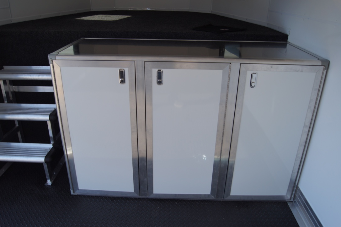 "21"", 42"", 63"", and 84"" Aluminum Base Cabinets"