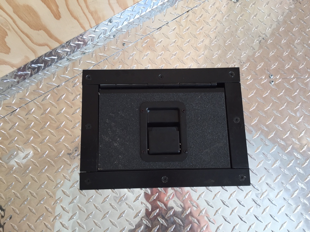 Recessed Battery Box