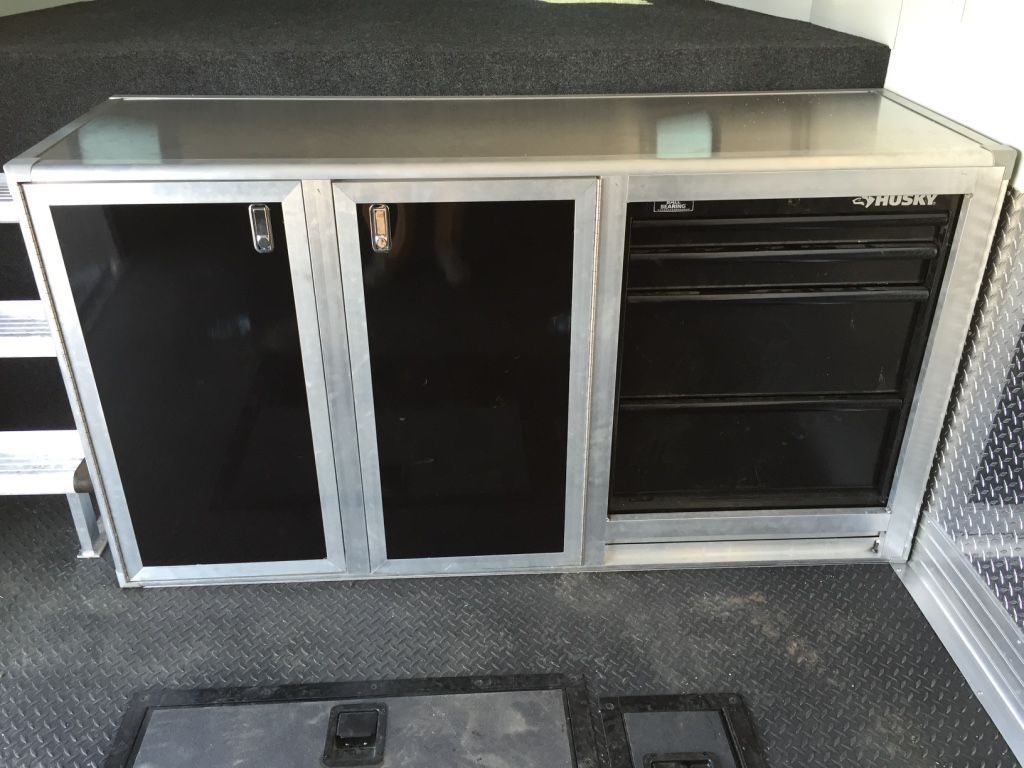 Base Cabinet with Integrated Toolbox