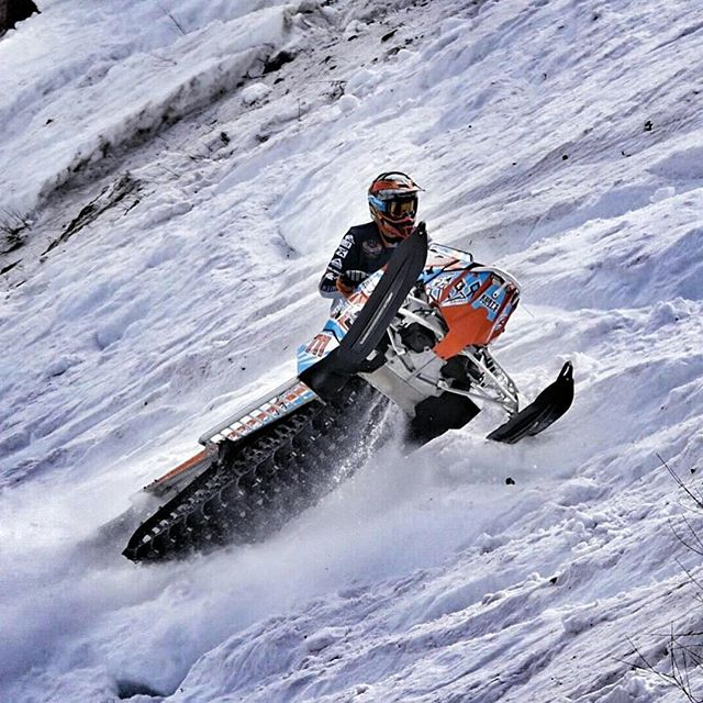 Congrats to #charmactrailers rider @keithcurtis711 on a great weekend at the world championships in Jackson. Brought home Stock King of The Mountain among other wins as well. #rmsha #snowmobile #charmac @racermsha