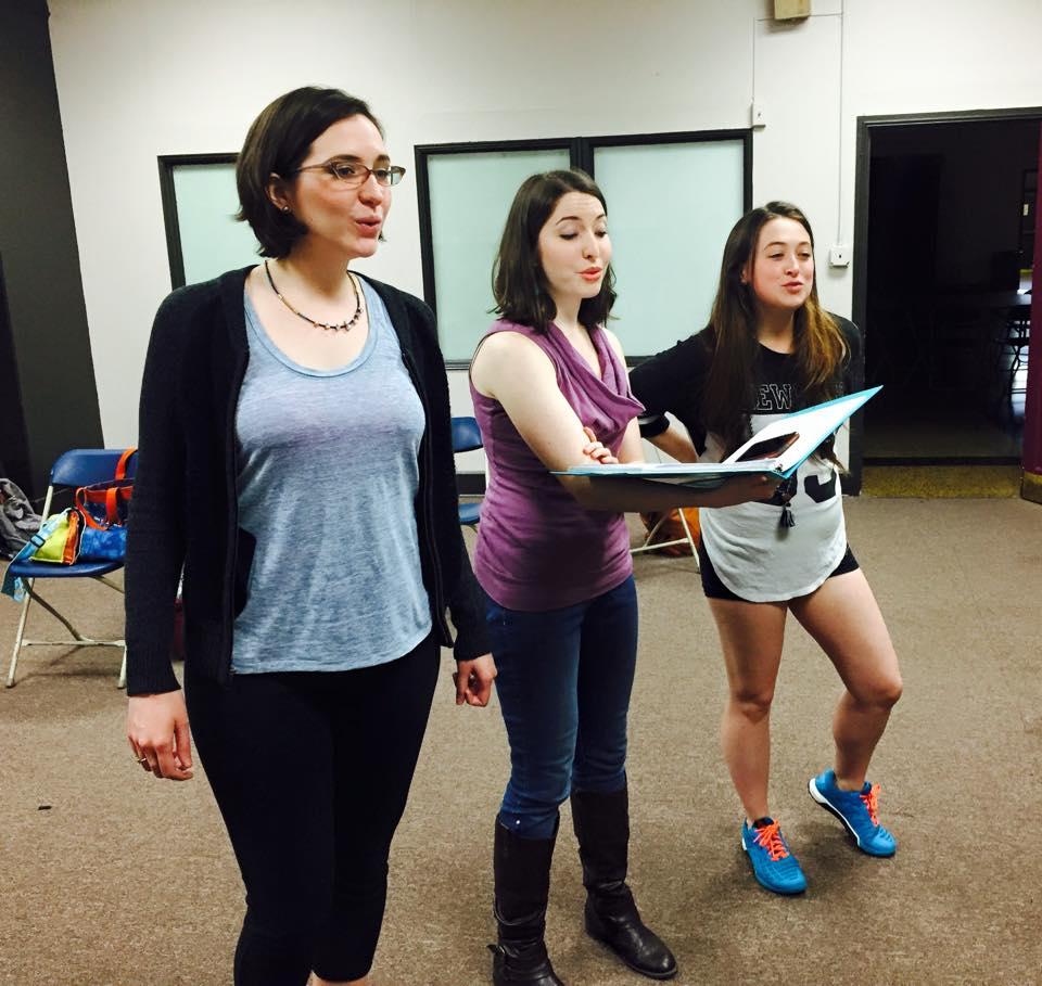 TEETH rehearsal