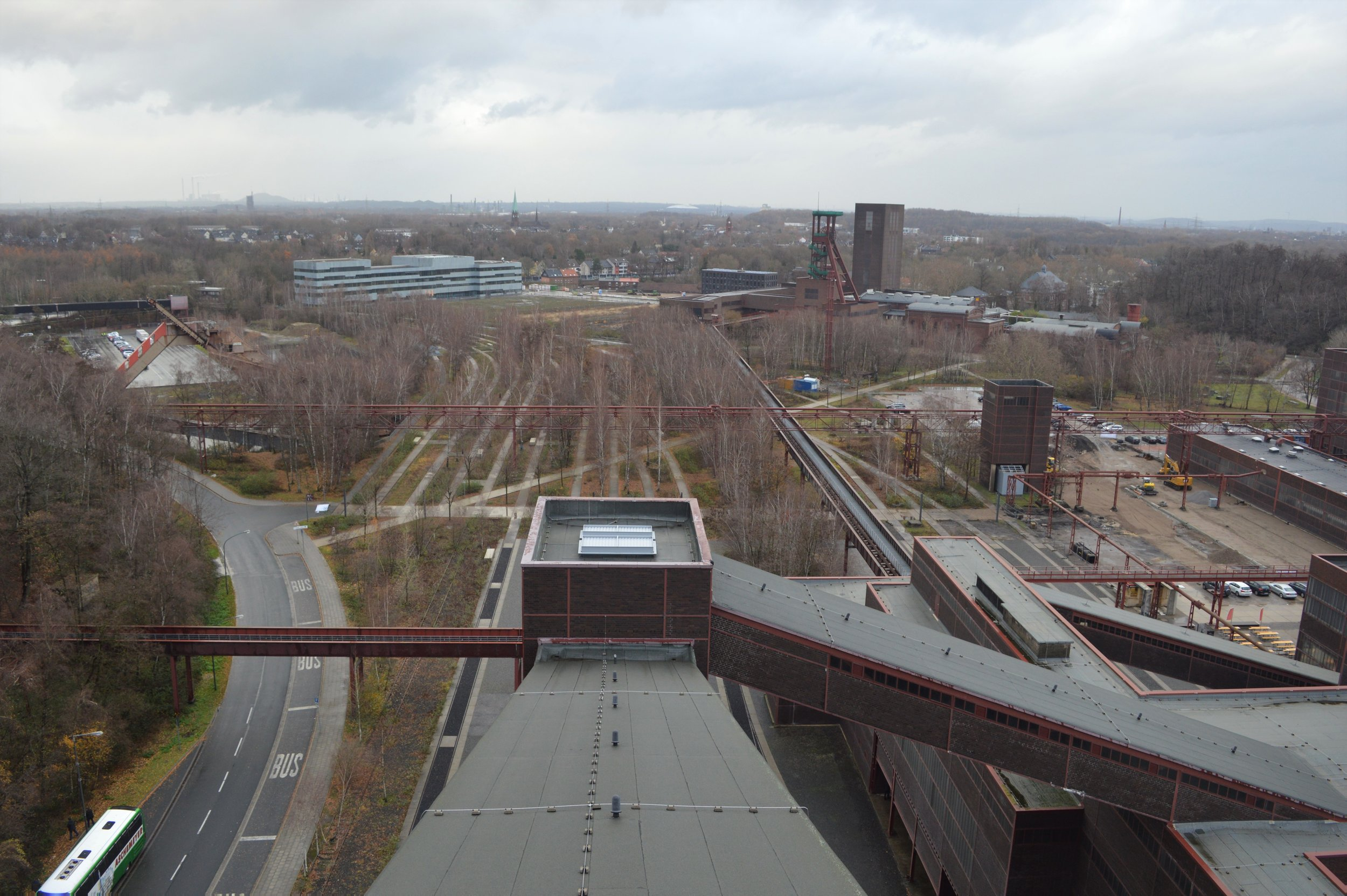 Zollverein viewed from the Ruhr Museum.