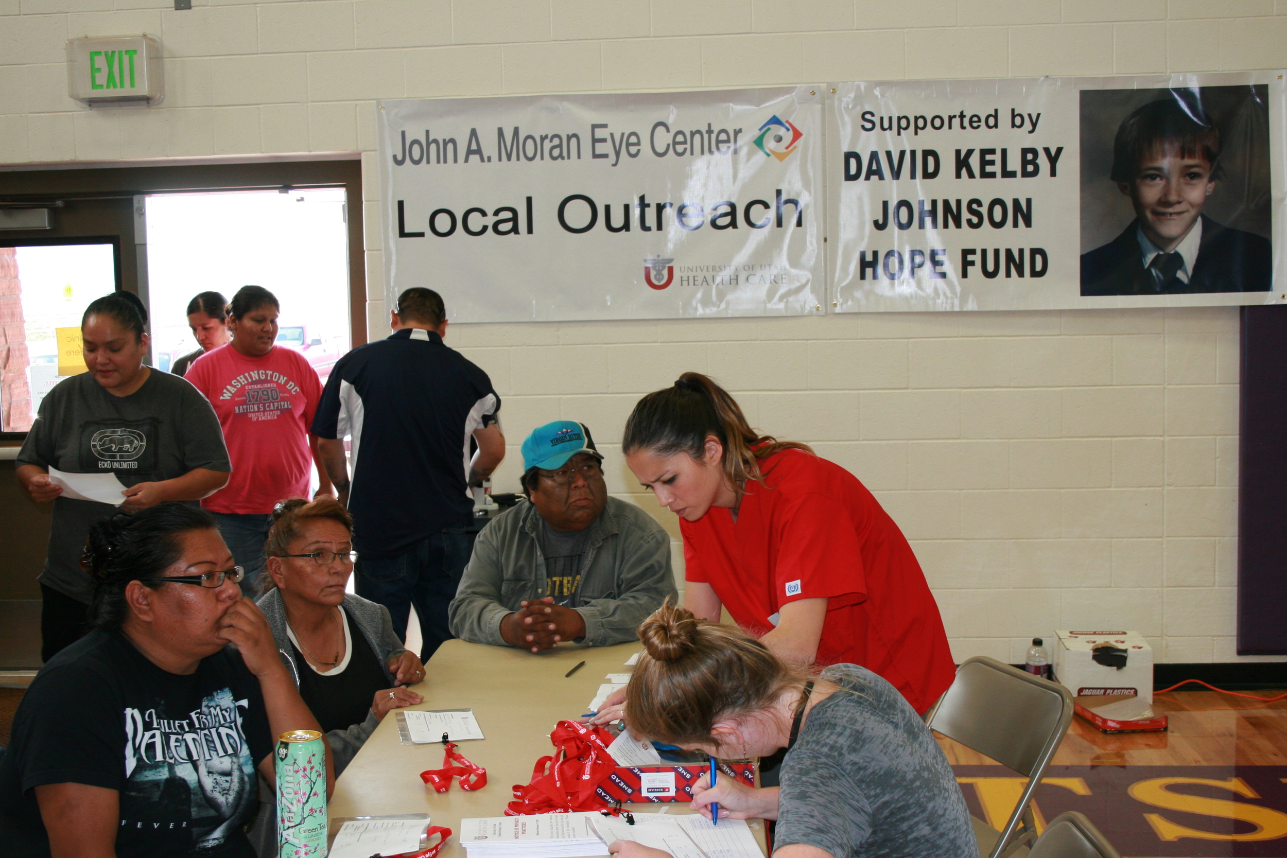 Moran eye center outreach supported by the david kelby johnson memorial foundation, 2013