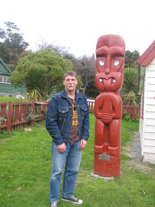 Environmentalist Greg Byrnes