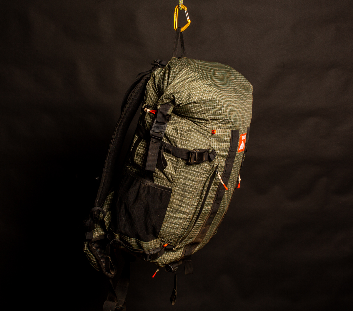 Poler Rolltop Backpacking pack | $45 - Used once as a photo prop on a backpacking trip. Retails for $150+