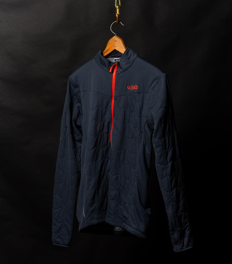 RAB lightweight 3/4 zip pullover | $20 - Worn twice.