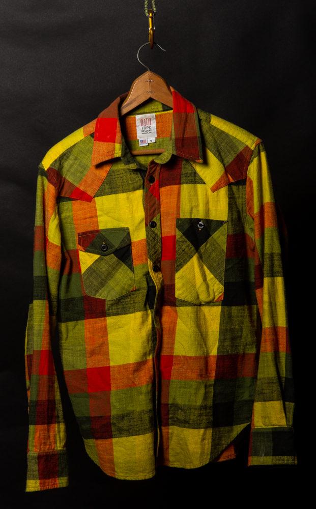 Topo Designs Mens Flannel Sz. Small | $15 - Gently worn one season.