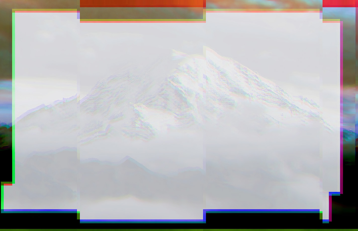 Glitched Mountain
