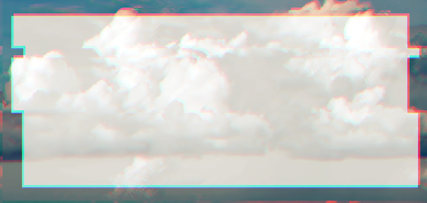 Long Clouds Glitched