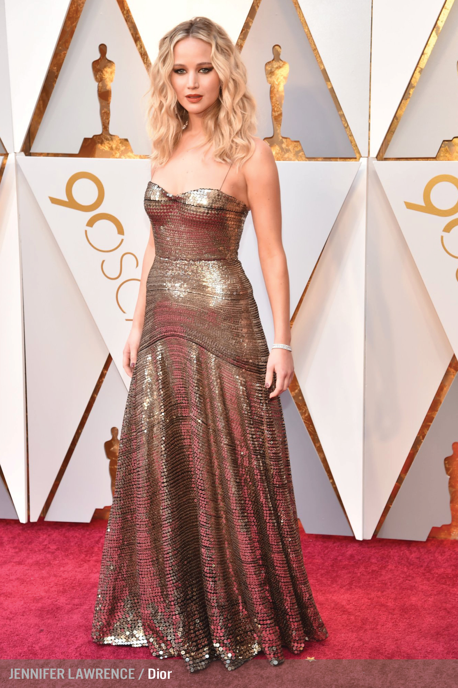 Oscars 2018 Red Carpet Looks Breakdown by Colors - House of June