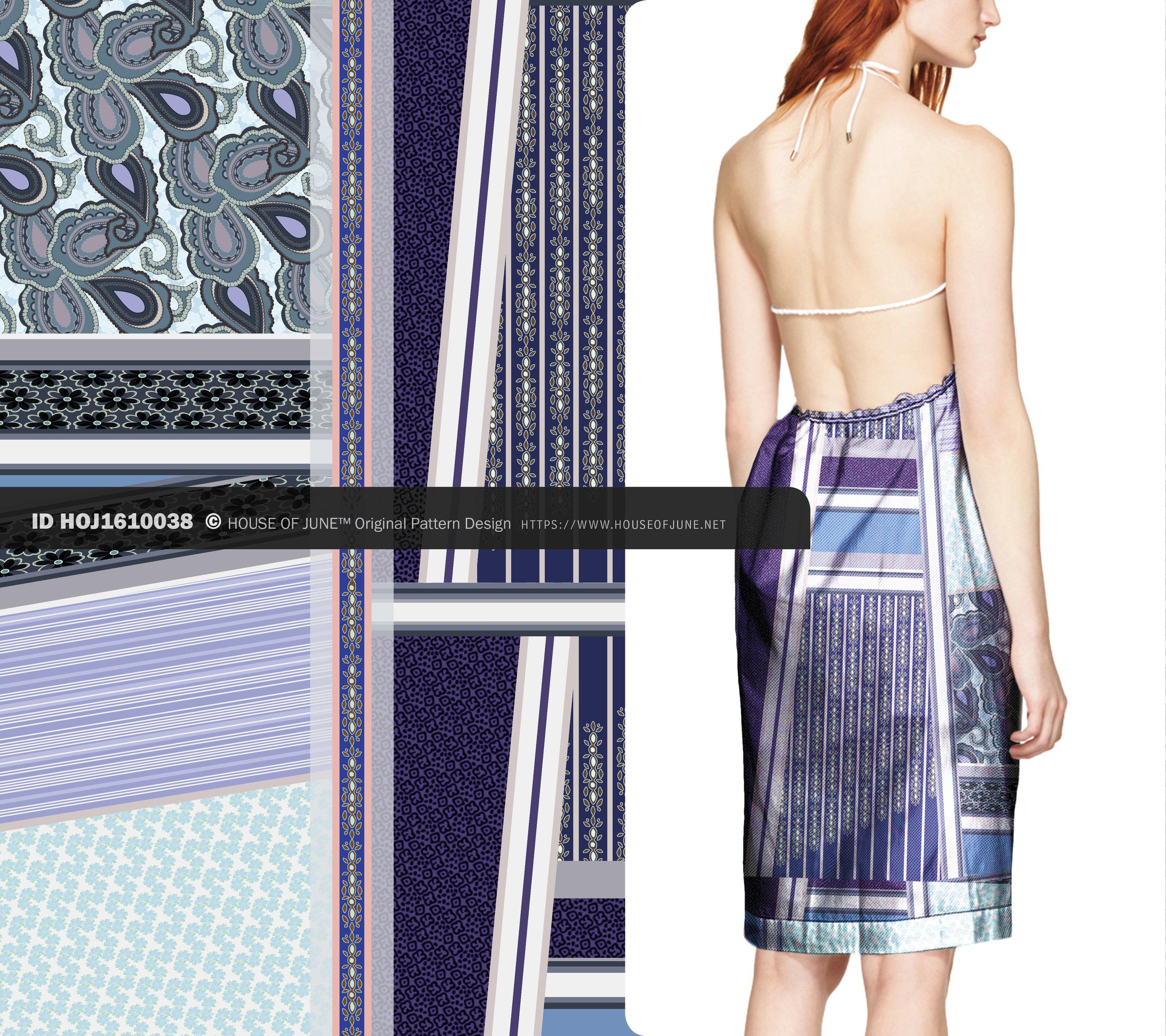 HOUSE OF JUNE™ original textile print pattern design artwork