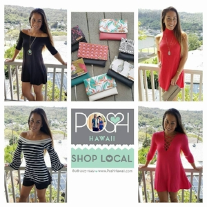 POSH Hawaii - A locally owned Hawaii boutique that offers modern and contemporary accessories and clothing for women, at affordable prices.
