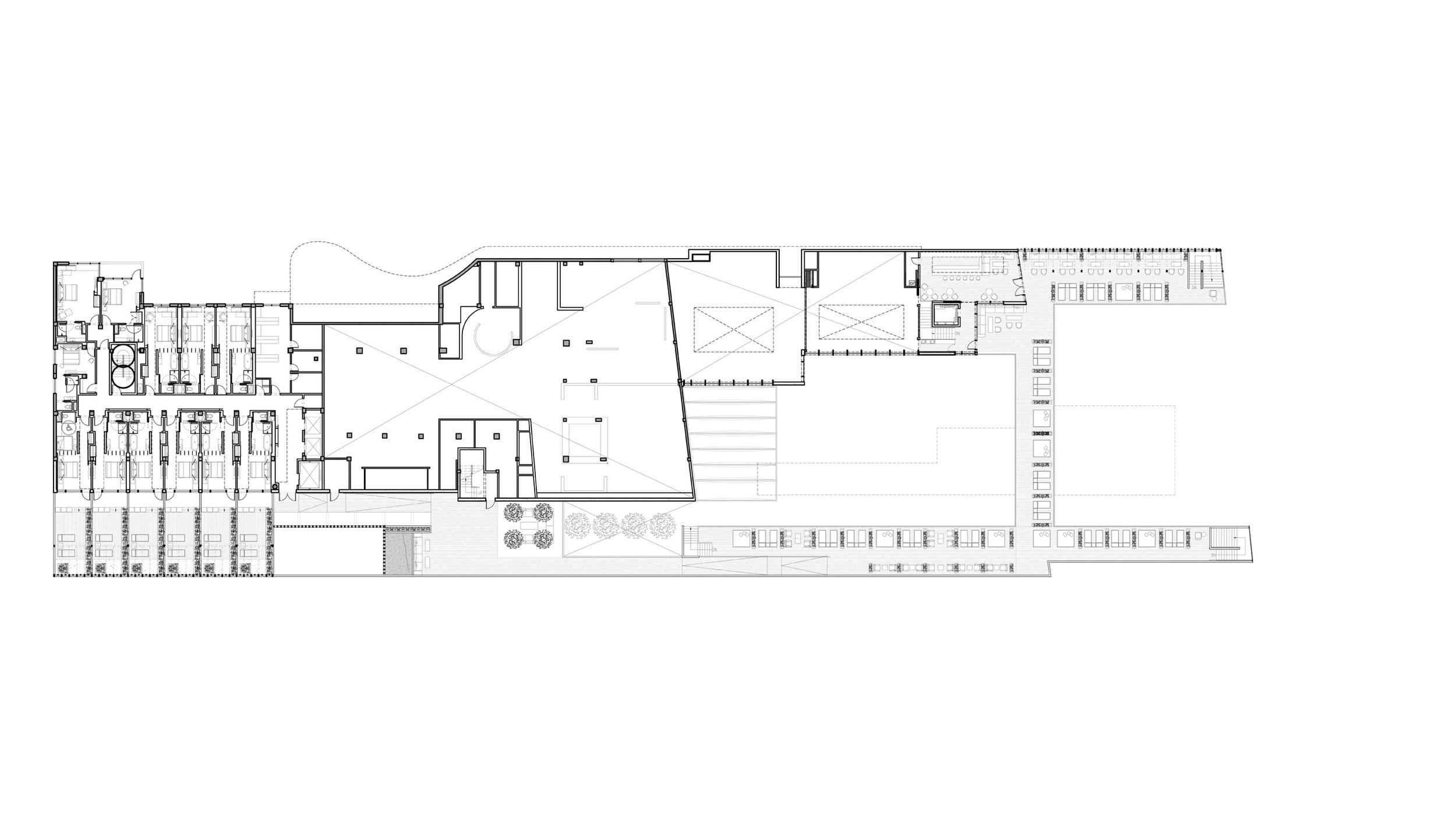 Second Floor, Upper Deck