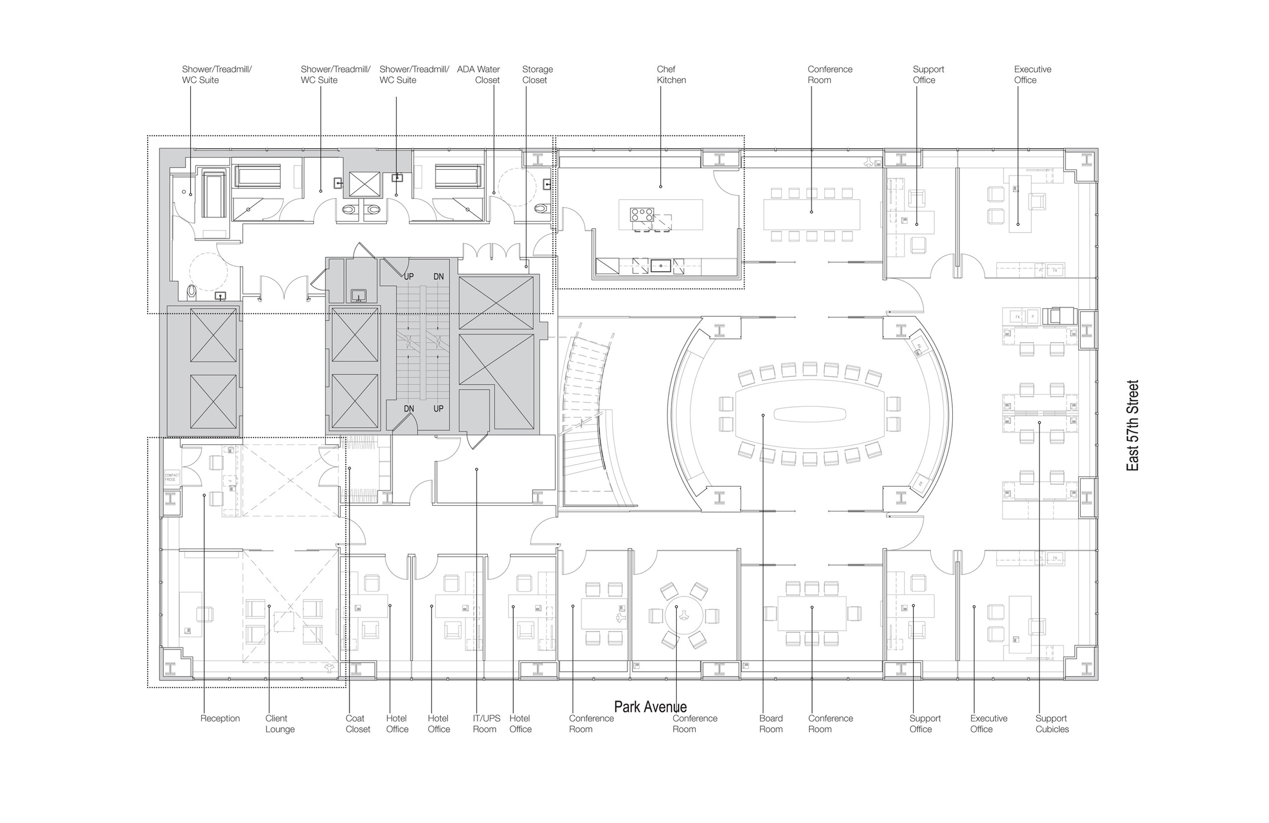 30th Floor Plan