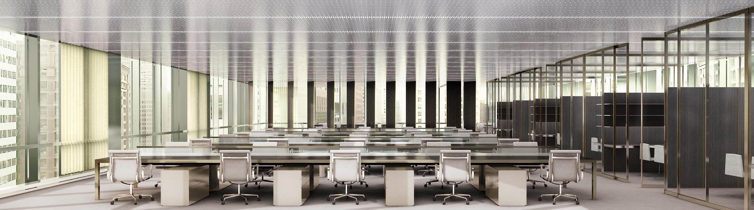 Office Hotel Interior _dark palette