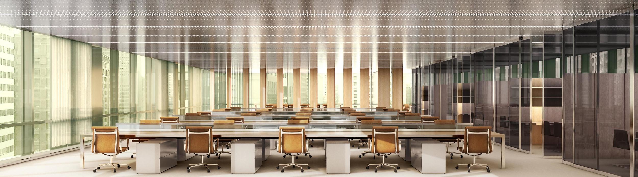 Office Hotel Interior _ Light Palette