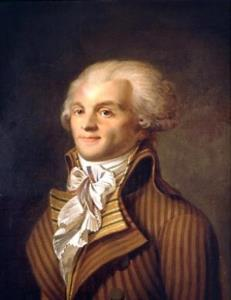 Maximilien Robespierre, French revolutionary.