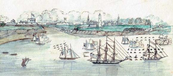 Fort George flotilla.jpg