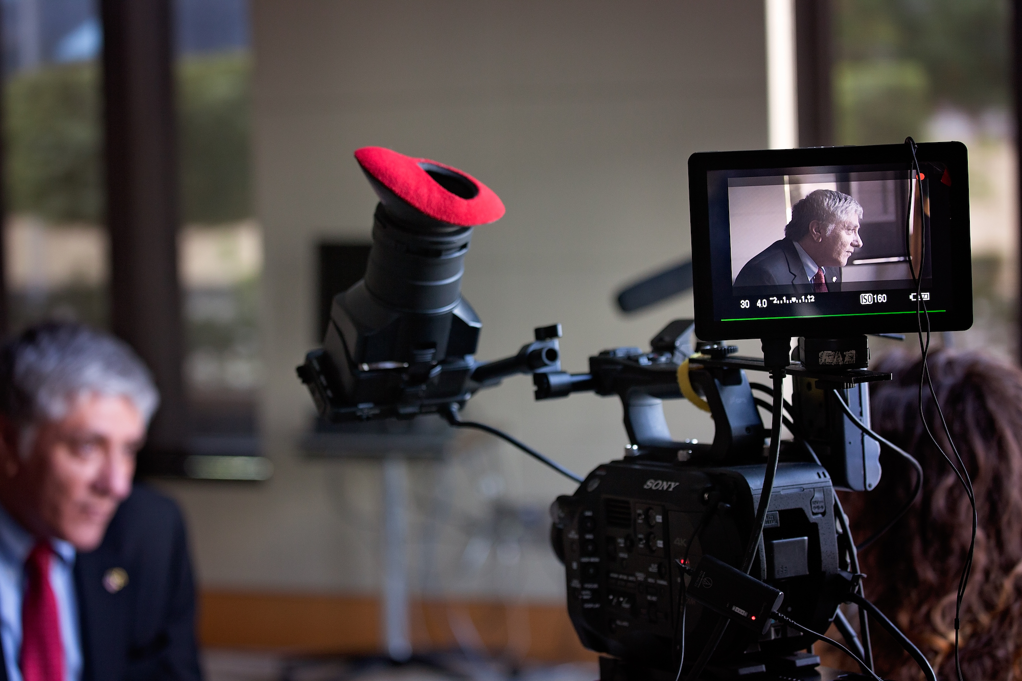 JA filmed ten more alumni documentaries for our 100 Lives series, including an interview with the Honorable Luis G. Moreno, U.S. Ambassador to Jamaica.