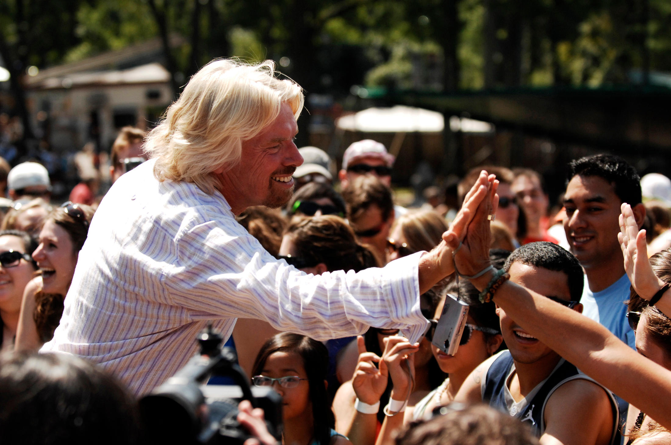 Sir Richard Branson, one of  the world's most successful entrepreneurs, called JA a wonderful model for integrating real-world and experiential learning into the education process and helping young people realize their dreams.
