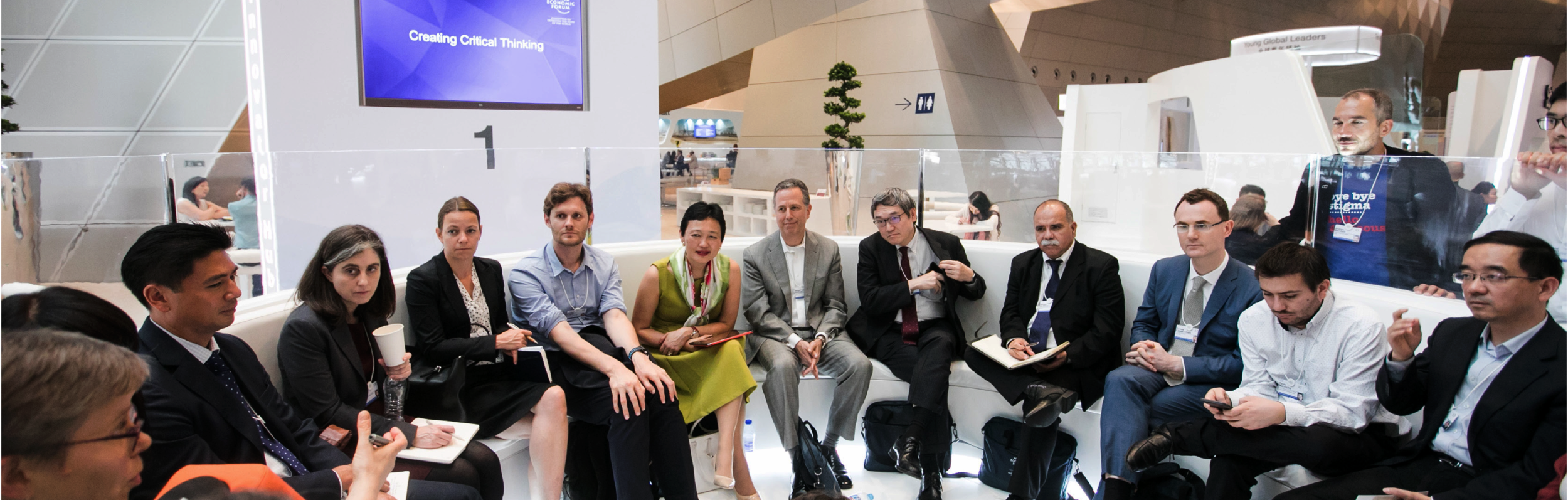COO/CFO Margie Wang led a panel discussing soft skills and hard skills for young people at the World Economic Forum Meeting of New Champions in China.