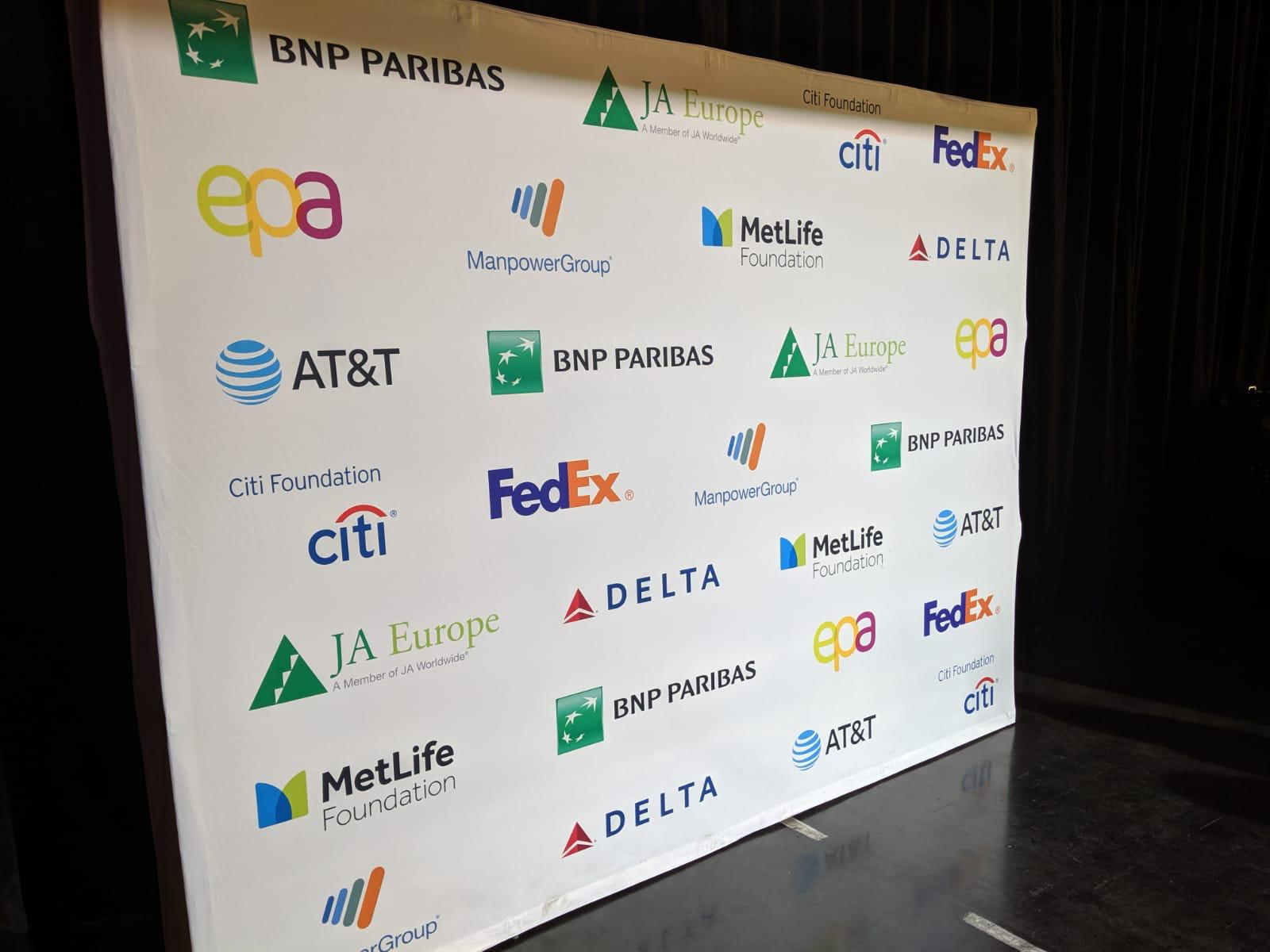 We are so grateful to the JA Europe Company of the Year Competition 2019 sponsors.