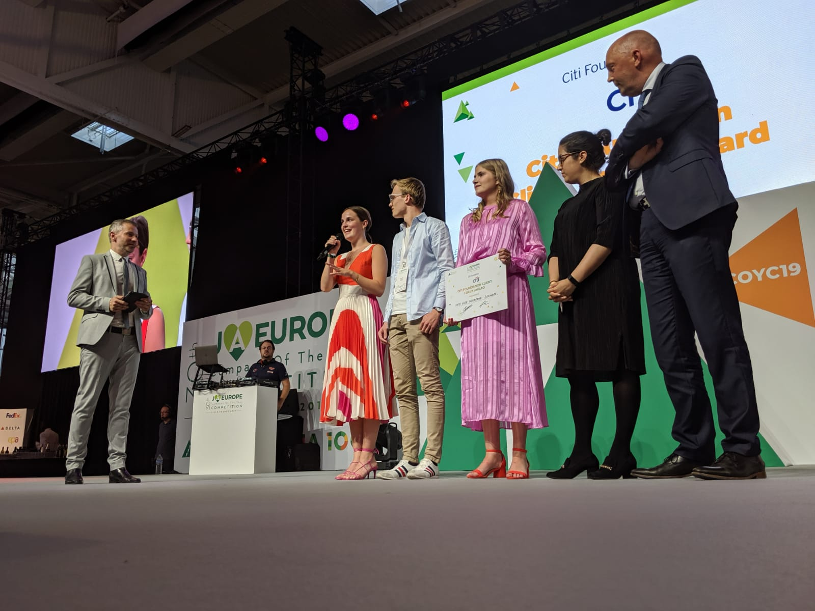 Hush-Hush Underwear, winner of the 2019 Citi Foundation Client Focus Award.