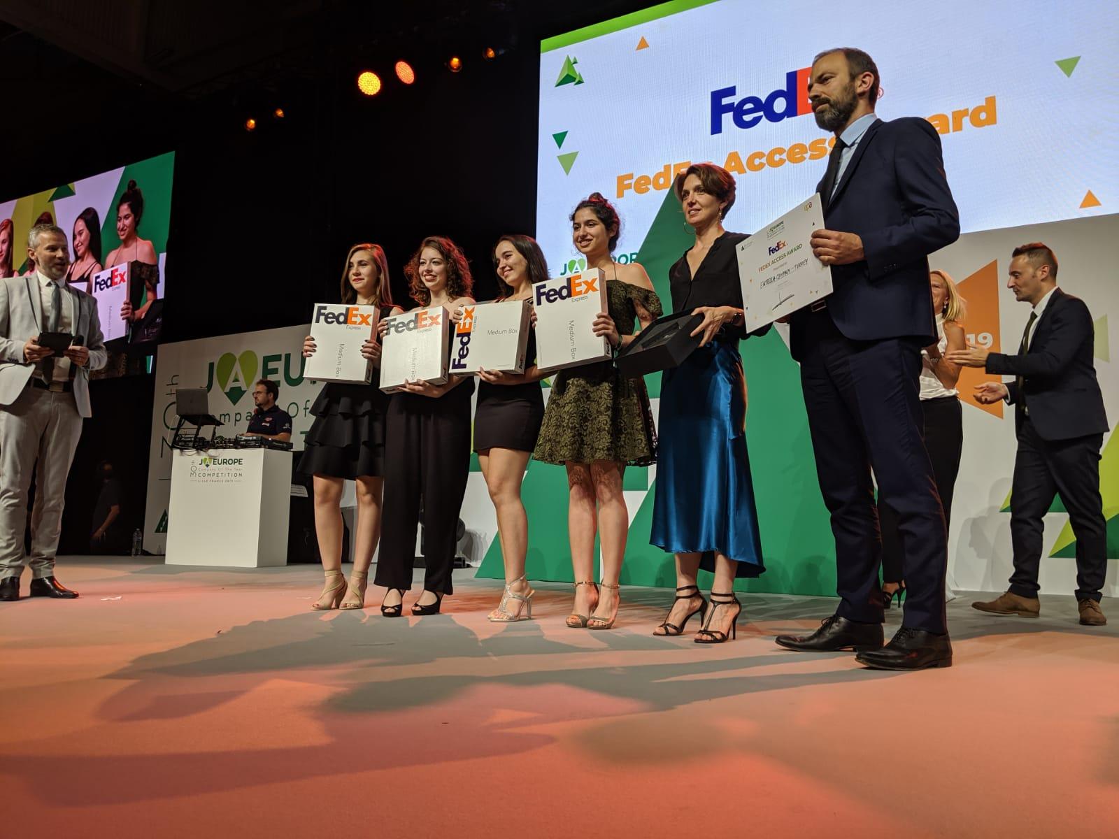 Entella Company, winner of the 2019 FedEx Access Award.