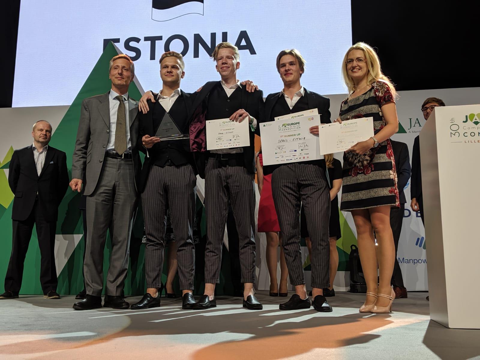 Brand from JA Estonia.