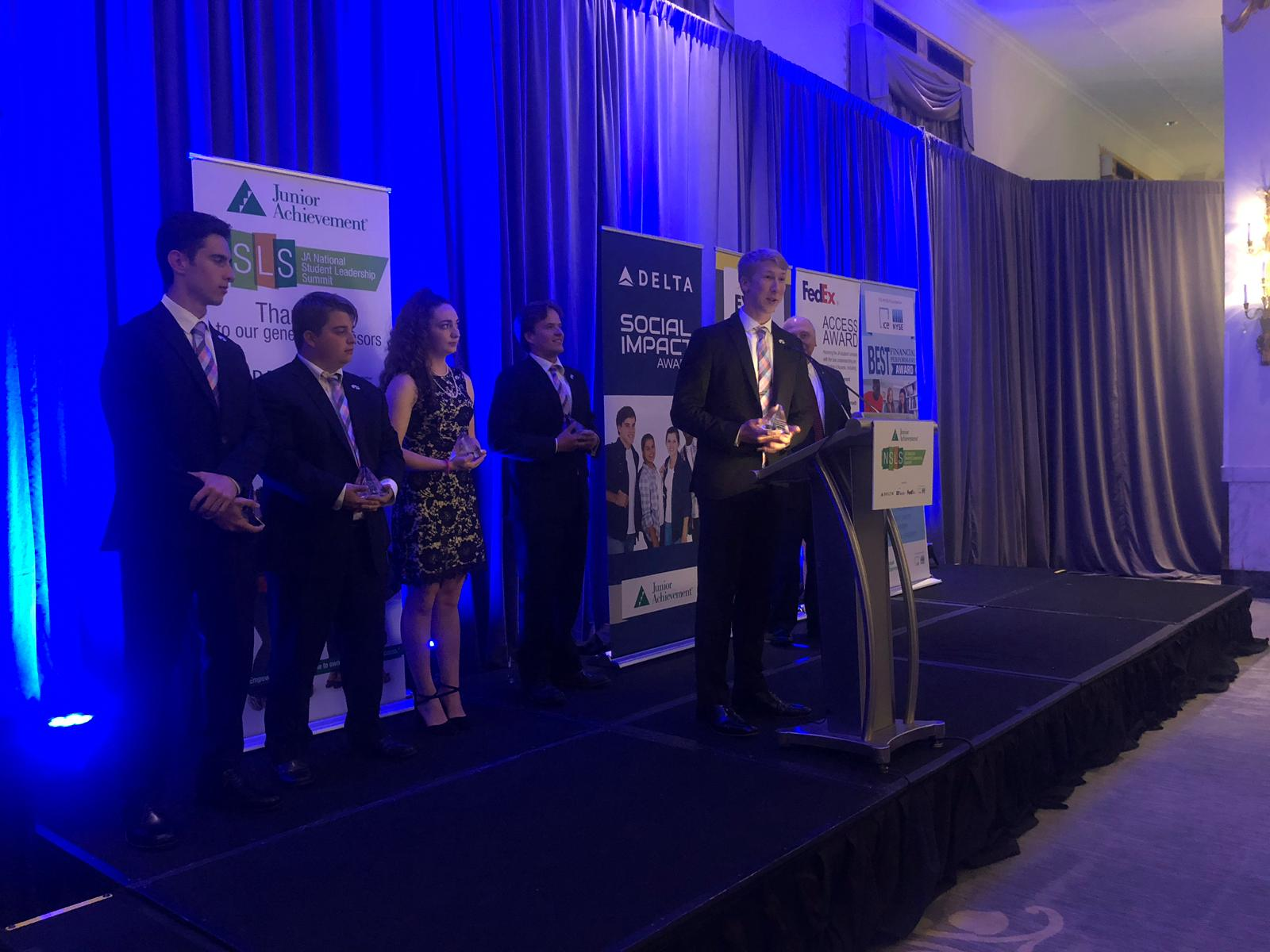 Simple Starters wins 2019 JA Company of the Year.