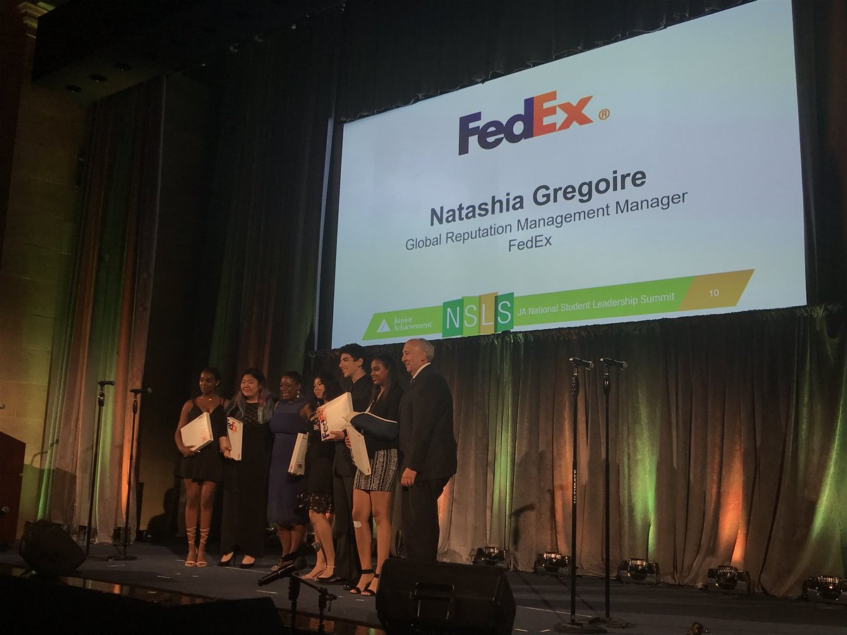 Thanks to the generosity of FedEx, Blockchaingirls of JA of Southern California won the coveted FedEx Access Award.