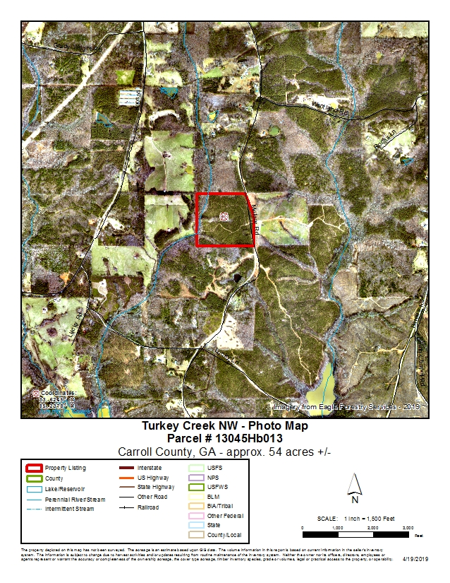 Turkey Creek NW Tract: 53 77 +/- acres — Allen Southern