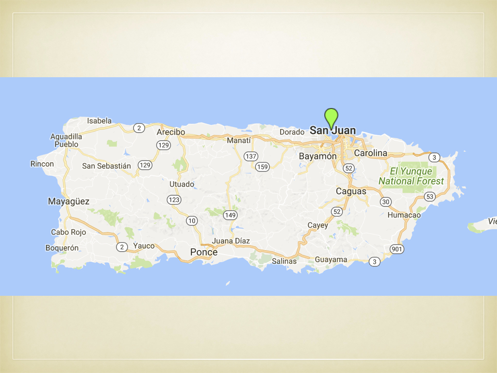 An overview of the Puerto Rican island's geography.