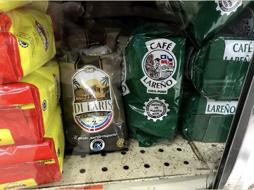 Later in the trip, we found coffee grown in Lares in the grocery store. (And yes, we did feel inspired to support the local economy…)