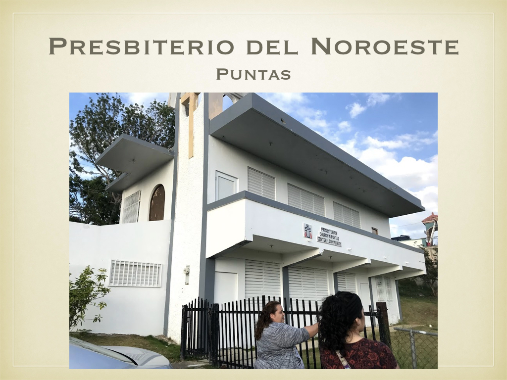 From Aguada, the ladies traveled to Puntas, where the Presbyterian Church in Rincón has established a mission outpost/satellite location.